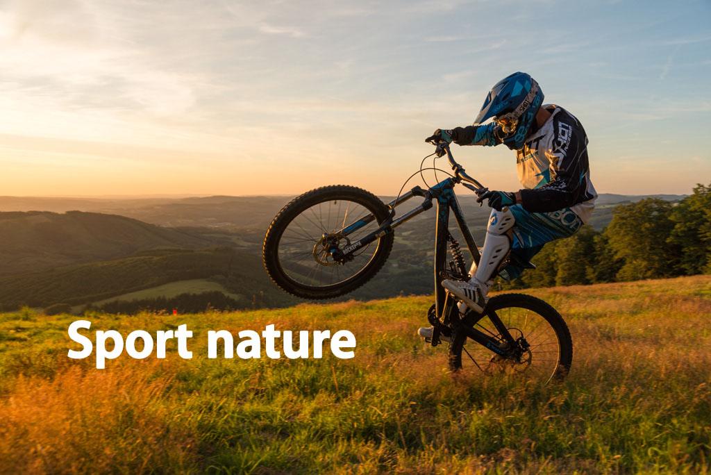 Activités sportives : sport nature